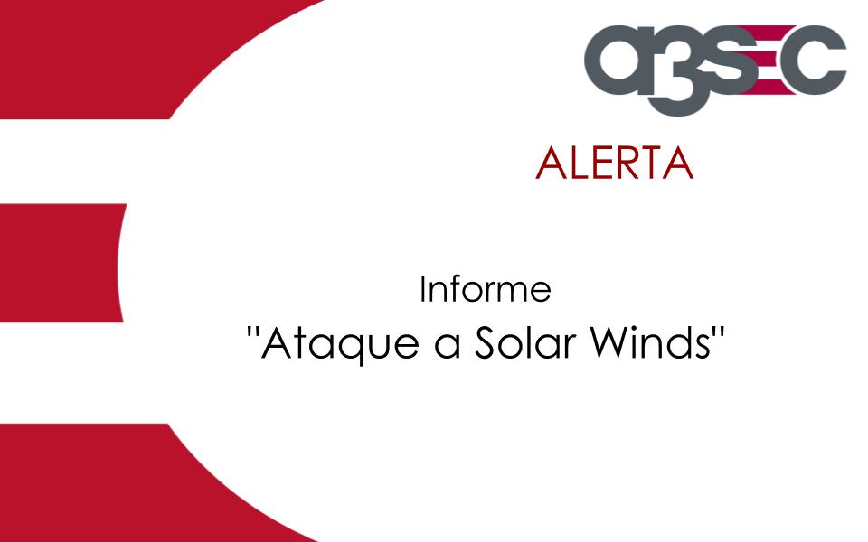 Ataque a Solar Winds