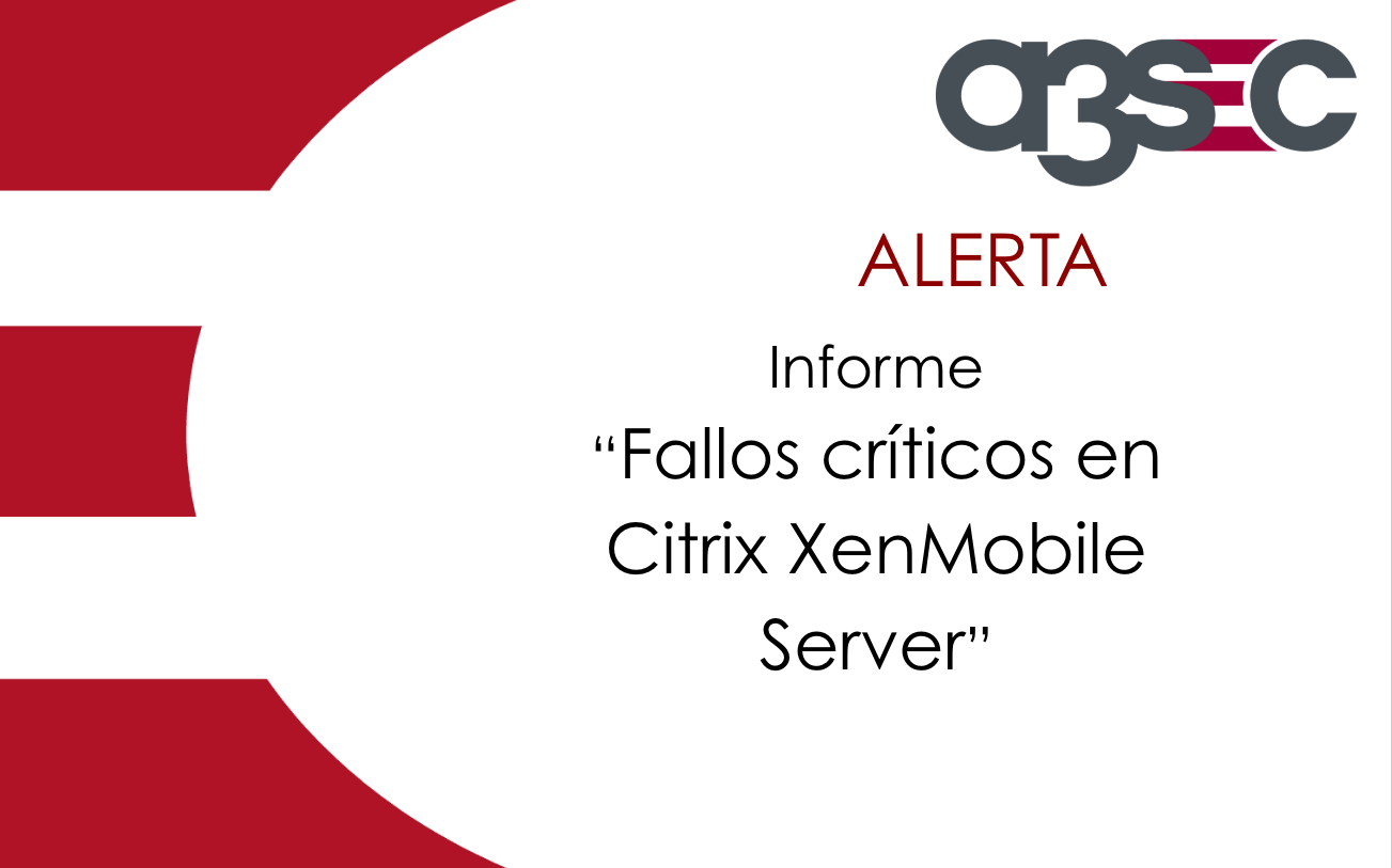 Citrix XenMobile Server