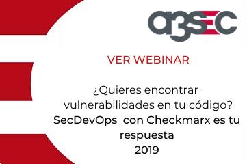 Webinar SecDEv Ops 2019