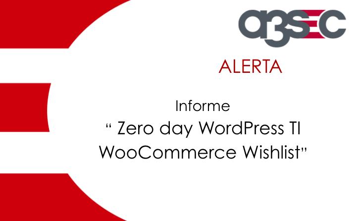 Zero day WordPress